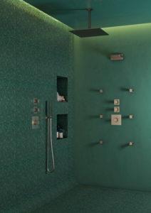 rubinetteria torino, gruppo doccia Cubic by Cisal