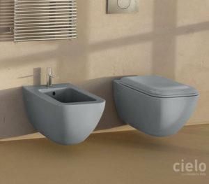 Water e Bidet sospesi sanitari Ceramica Cielo Shui Comfort