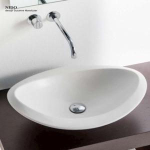 Hatria, serie Bianca, lavabo da appoggio
