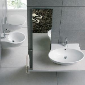 Sanitari Hatria Nido lavabo wc e bidet