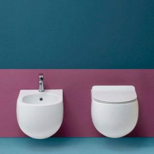 Serie Flo by Kerasan sanitari, wc e bidet