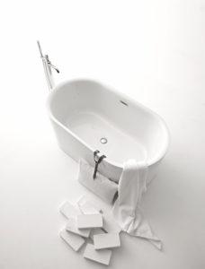 Serie Nolita by Kerasan sanitari, vasca da bagno
