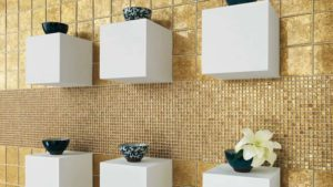 mosaici torino, colore oro, vitrex mosaici