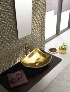 mosaici torino, mosaico oro, boxer mosaici