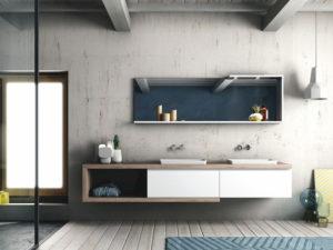 Fly gola, Puntotre, mobili bagno