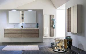 mobili bagno torino arblu 5.zero doppio lavabo