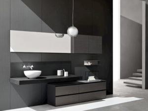 mobili bagno torino arblu 5.zero colore scuro