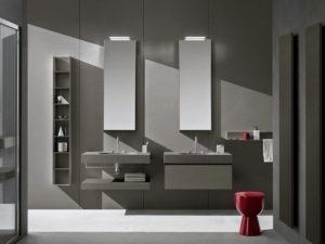 mobili bagno torino arblu 5.zero colore grigio