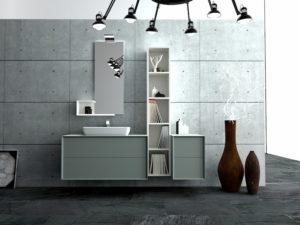 Modula 2.0, Puntotre, mobili bagno