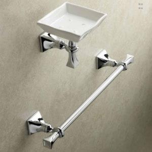 porta salviette e porta sapone, fissaggio a muro, accessori bagno, Stilhaus